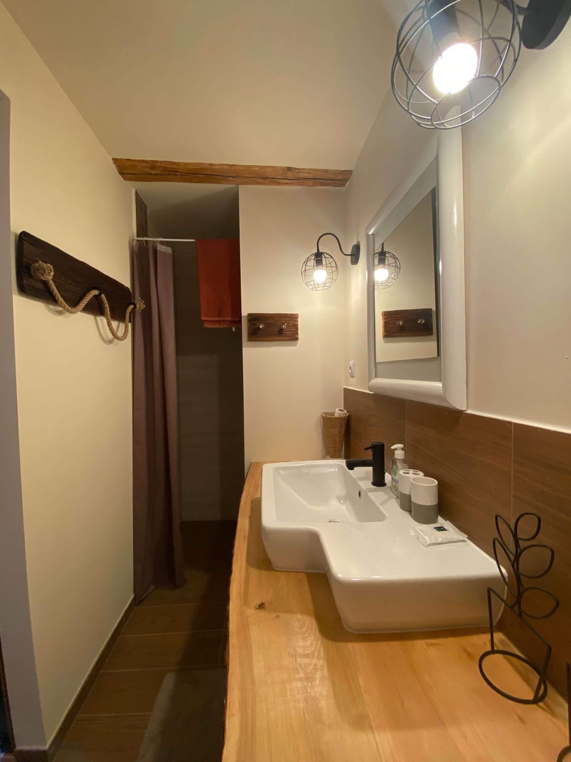 Pokój pod Olchami – łazienka